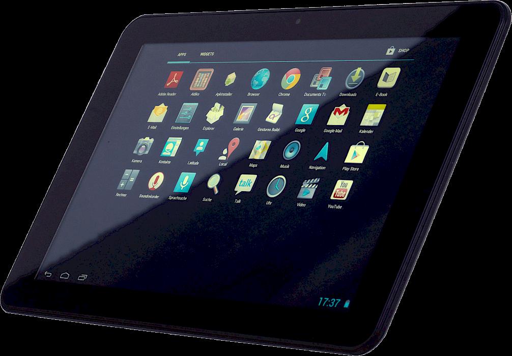 leistungsstarke tablets kompakt und angenehm in der hand. Black Bedroom Furniture Sets. Home Design Ideas