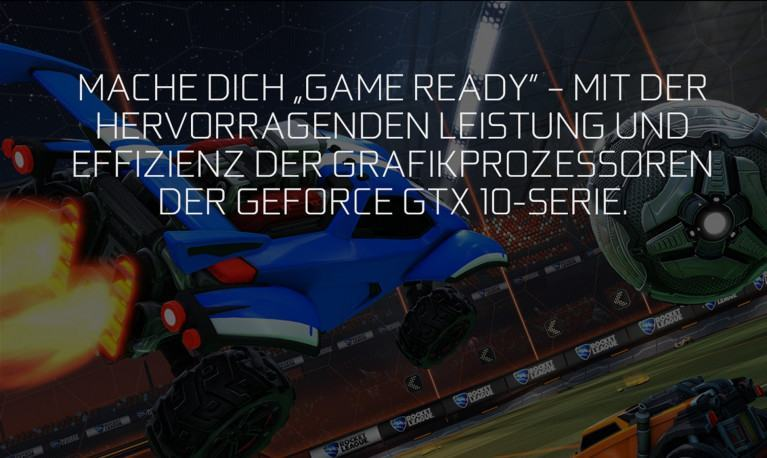 Game Ready für Rocket League mit Nvidia GTX 10 Serie