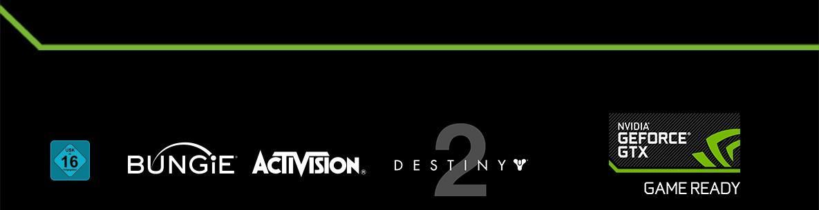 Nvidia Destiny2 Aktion bei GTX 1080 Geforce Gamecoupon