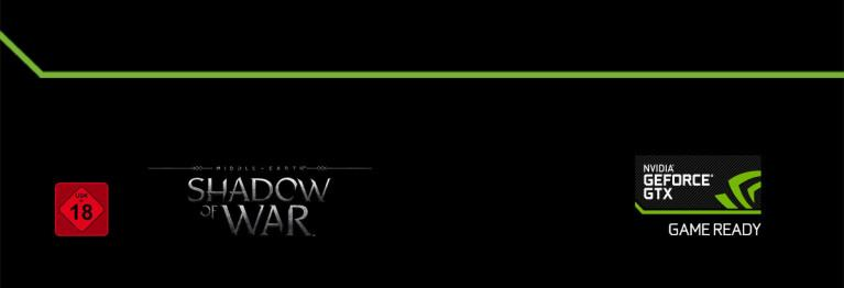 Nvidia GTX Gaming Shadow of War