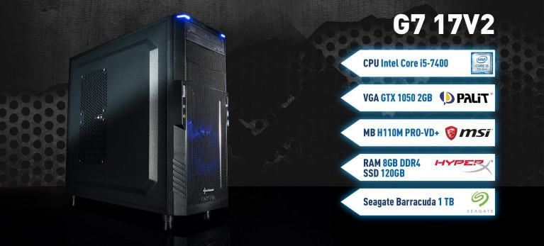 Captiva G7 17V2 Gaming PC