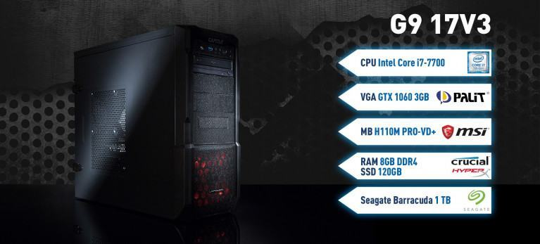 Captiva G9 17V3 Gaming PC
