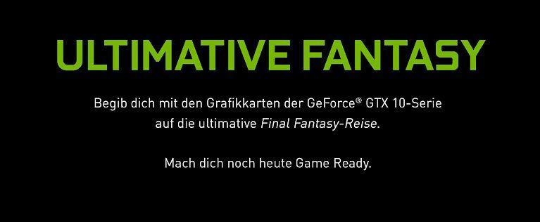 Geforce GTX und Final Fantasy XV